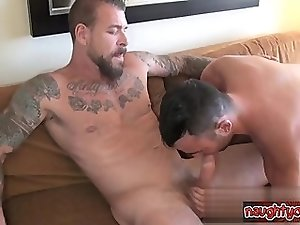 Cute brothers ass fucked hard