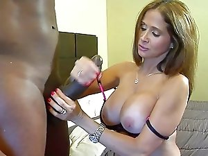 Hot milf interracial fuck with black cock