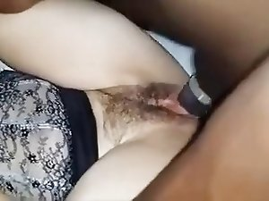 slut wife first time with bbc(cuckold)