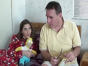 Dad not Daughter Fuck After Bedtime Story WF