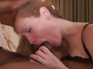 Amateur Redhead Gets Dominated by Black Master-Identify