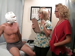 Prostate Exam Becomes a Ejaculation Treatment