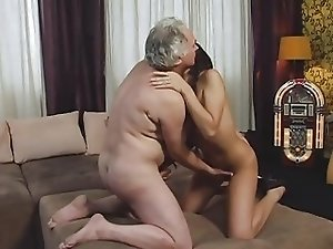 Gorgeous Teen and Older Man