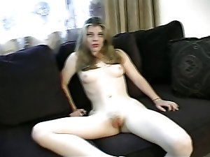 Nude blonde slut in hard assfucking scene